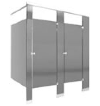 Equipment Restroom Partitions Nickerson NY FURNITURE - Stainless steel bathroom dividers